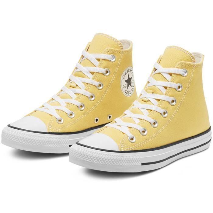chaussure converse grande jaune du 33