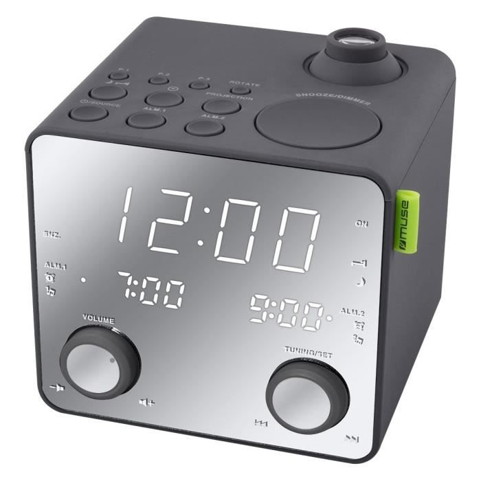 Radio réveil Muse M-189 PMR Radio-Radio-réveil
