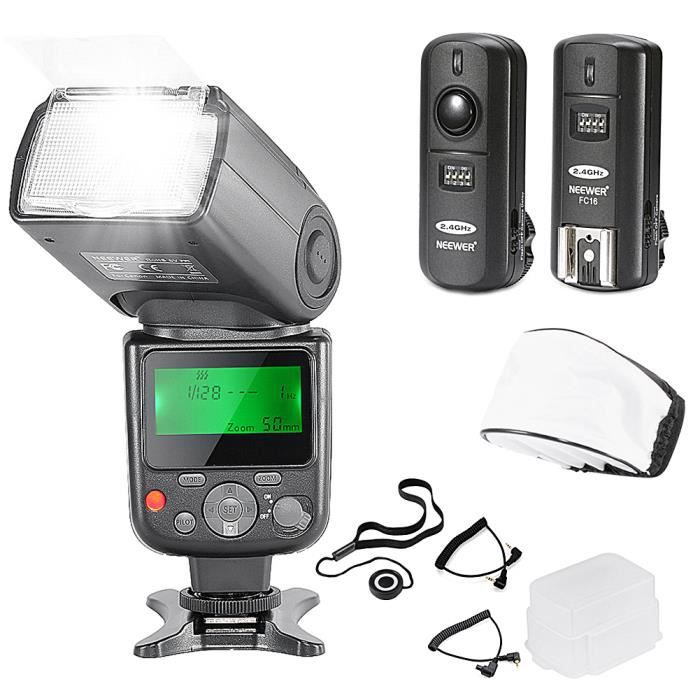 Neewer nw670 e ttl flash kit pour appareils photo - Ventes flash cdiscount ...