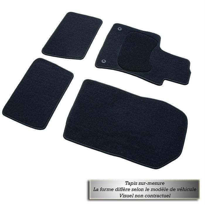 tapis tuft sur mesure peugeot 207 achat vente tapis de sol tapis sur mesure peugeot 207. Black Bedroom Furniture Sets. Home Design Ideas
