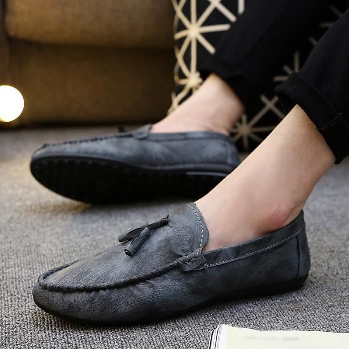 Mode homme respirant Mocassins Casual Slip Ons
