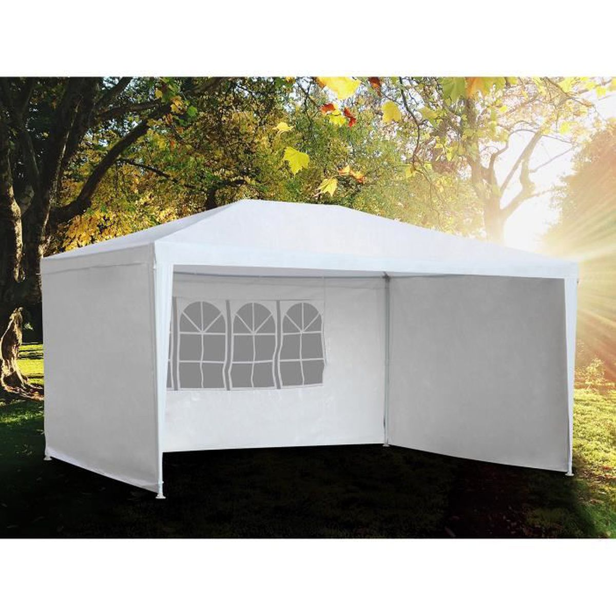 TONNELLE - BARNUM Romania 3X3 Tente de réception avec fenêtres