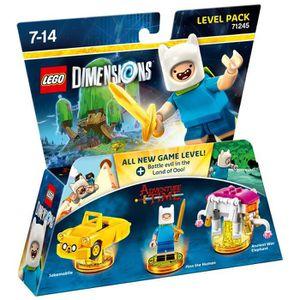 FIGURINE DE JEU LEGO Dimensions - Pack Aventure - Adventure Time