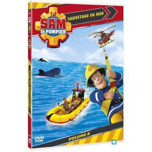 DVD DESSIN ANIMÉ DVD Sam le pompier : sauvetage en mer