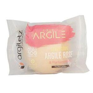 SAVON - SYNDETS ARGILETZ Savon apaisant argile rose - Parfum rose