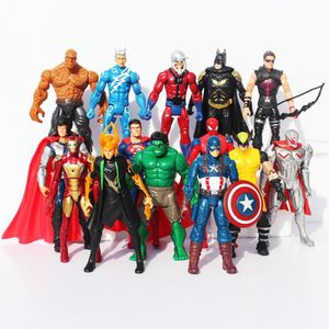 FIGURINE - PERSONNAGE 14 pcs - ensemble 16 cm The Avengers de l'âge de 2