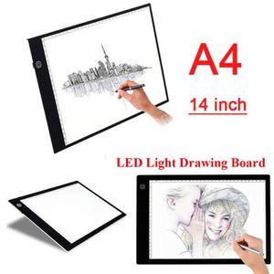 TABLE A DESSIN A4 LED Table A Dessin Lumineuse Tactile Art Cadeau