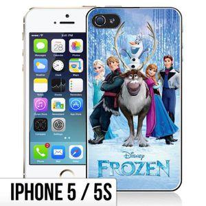 COQUE - BUMPER Coque iPhone 5-5S La Reine Des Neiges - Personnage