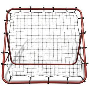 MINI-CAGE DE FOOTBALL  Filet de rebond de football ajustable 100 x 100 c
