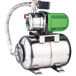 POMPE ARROSAGE SURPRESSEUR inox 50 litres 1200W 58L/mn