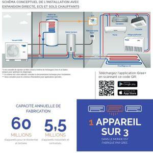 POMPE À CHALEUR VERSATI III monobloc MB14F3-14 kW -25° pompe a cha