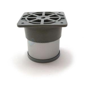 PIED DE TABLE Cabinet Pied Réglable Aluminium Pied De Meuble 60m