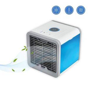CLIMATISEUR MOBILE Ecent 3 en 1 Mini Climatiseur Humidificateur Refro