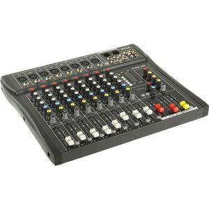 TABLE DE MIXAGE Table de mixage professionnelle 8 canaux et voies