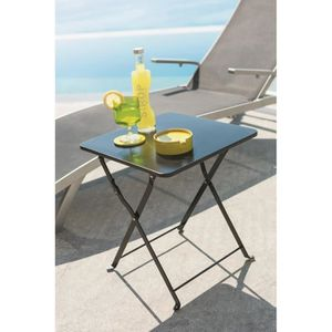 table basse de jardin en metal achat vente table basse de jardin en metal pas cher cdiscount. Black Bedroom Furniture Sets. Home Design Ideas