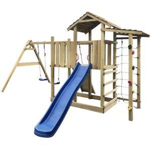 BALANÇOIRE - PORTIQUE Aire de jeu, échelle, toboggan, balançoires 516x45
