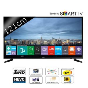 Téléviseur LED SAMSUNG UE48JU6000 Smart TV LED Ultra HD 4K 121cm
