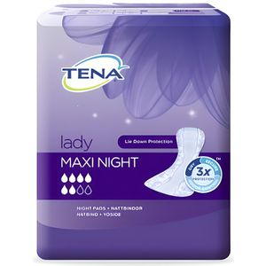 FUITES URINAIRES TENA - Protections anatomiques Lady Maxi Night - 1