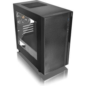 BOITIER PC  Versa H18 Mini Tour Format Micro ATX Noir Fenêtre