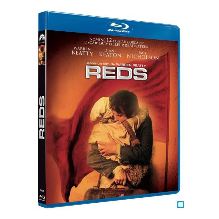 blu ray reds en blu ray film pas cher beatty warren soldes cdiscount. Black Bedroom Furniture Sets. Home Design Ideas