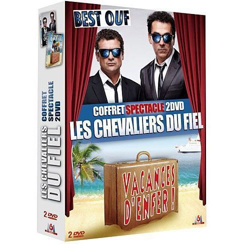 dvd coffret les chevaliers du fiel vacances d en dvd. Black Bedroom Furniture Sets. Home Design Ideas