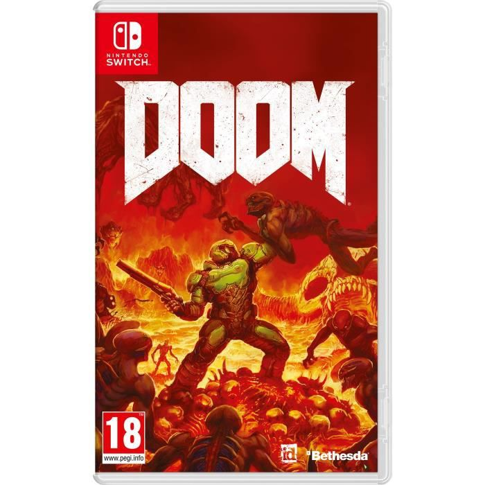 Doom jeu nintendo switch