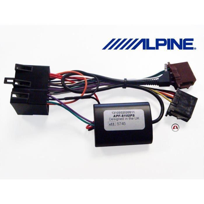APF-S102PS - Interface commande au volant - Peu...