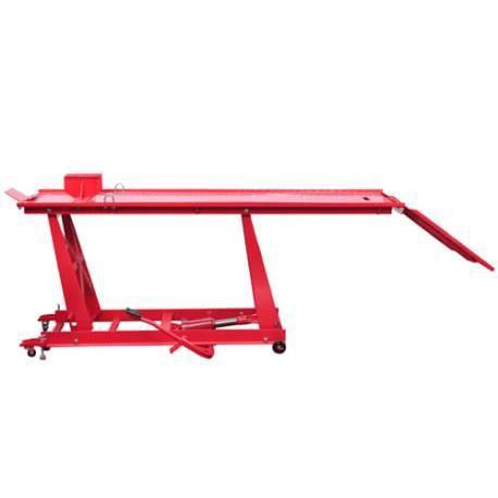 Pont élévateur pour motos Plate-forme élévatrice pour motos Bloc de montage 450 kg HB210048 HB112314