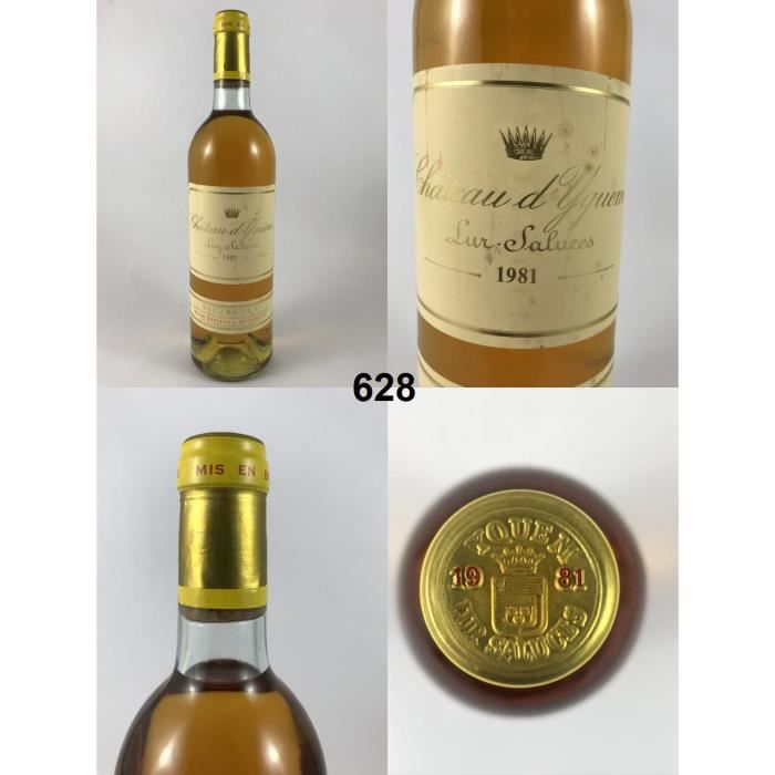 Château d'Yquem 1981 - N° : 628, Sauternes, Blanc