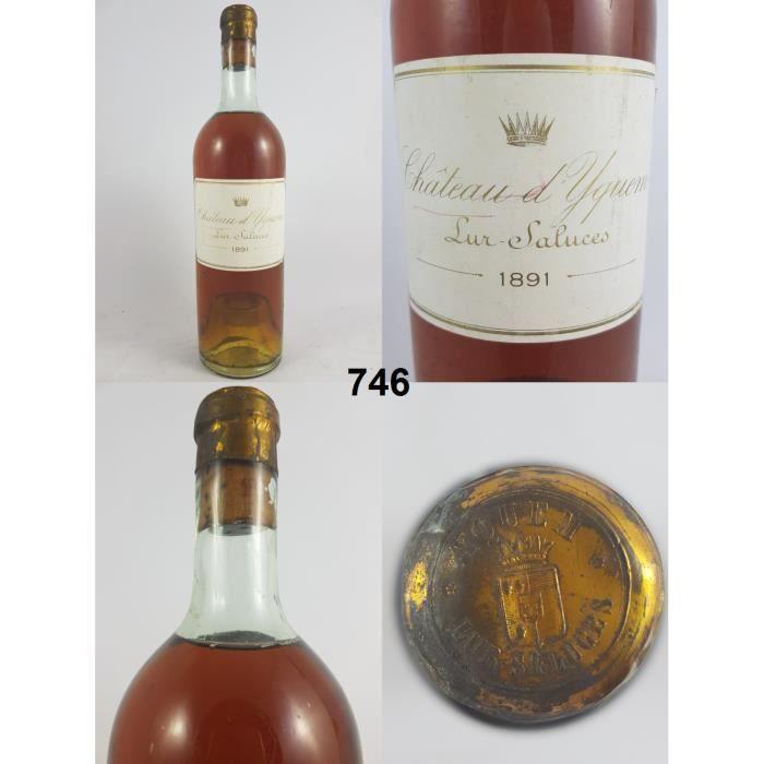 Château d'Yquem 1891, Sauternes, Blanc