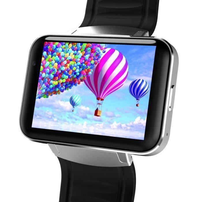 Bluetooth 3G Android SIM montre téléphone intelligent 4 Go avant Caméra Dual Core SL ZNSB0211