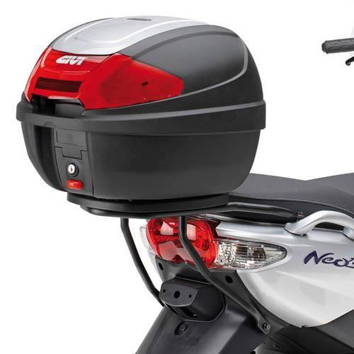 GIVI SR366 Support spécifique pour top cases MONOLOCK® pour Mbk Ovetto 50 (08 > 14) Yamaha Neo's 50 (08 > 14)