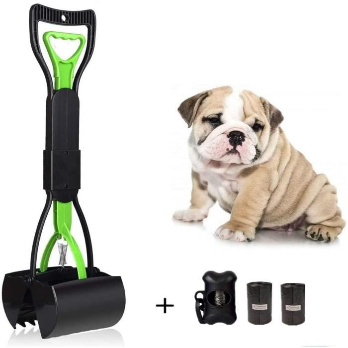 Uervoton Chien Ramasse Crotte Pooper Scooper Pelle Facile Pickup Marcher Pet Poop Scoop Grabber Picker 90320