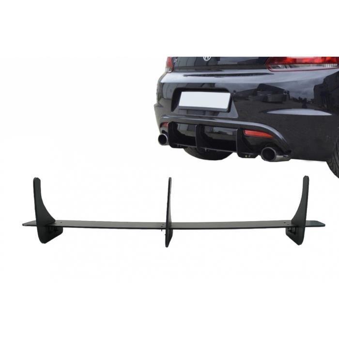 Extension arrière pour diffuseur Côté Splitters pour VW Scirocco Mk3 III R 09-17