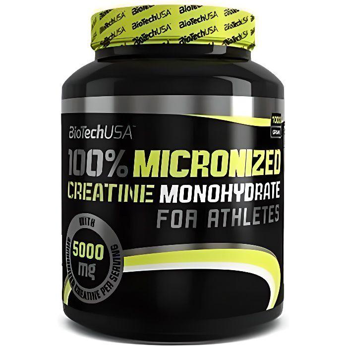 100% Créatine Monohydrate (500g) Biotech USA