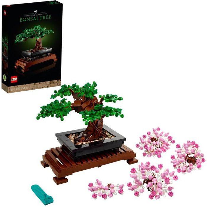 LEGO® Creator Expert 10281 Bonsai loisir créatif pour adultes, kit de décoration botanique DIY