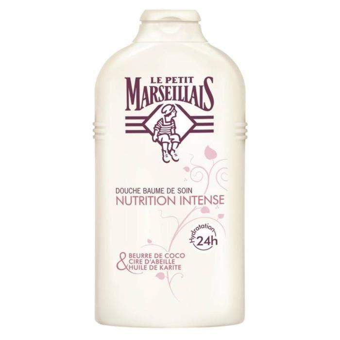 """Le Petit Marseillais Douche """"Nutrition Intense"""" Coco - Cire d'Abeilles - Huile De Karité 250ml (lot"""