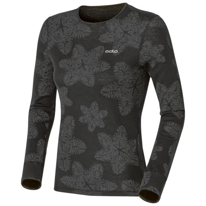 Sous vêtements techniques t-shirts Odlo Shirt L/s Crew Neck Warm