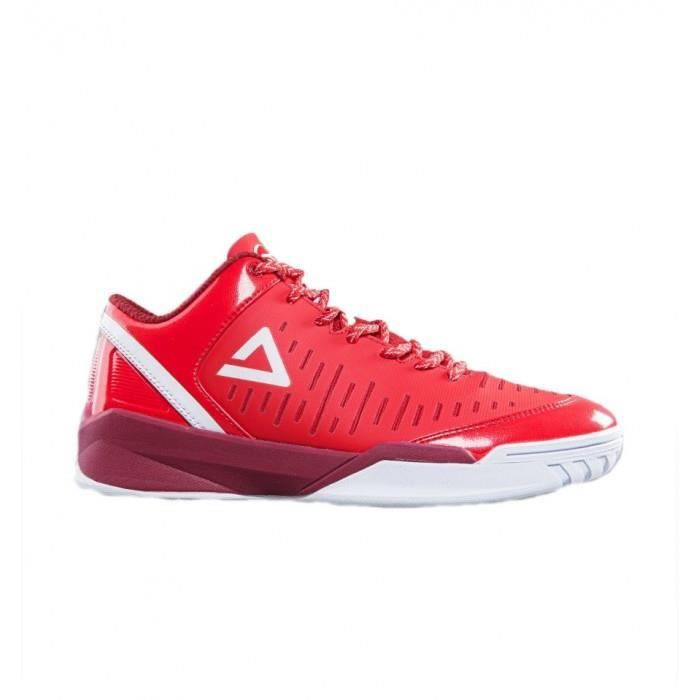 Chaussure de Basketball Peak Tony Parker Low Rouge