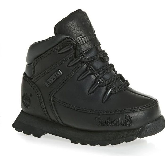 Timberland Euro Sprint Black Boots