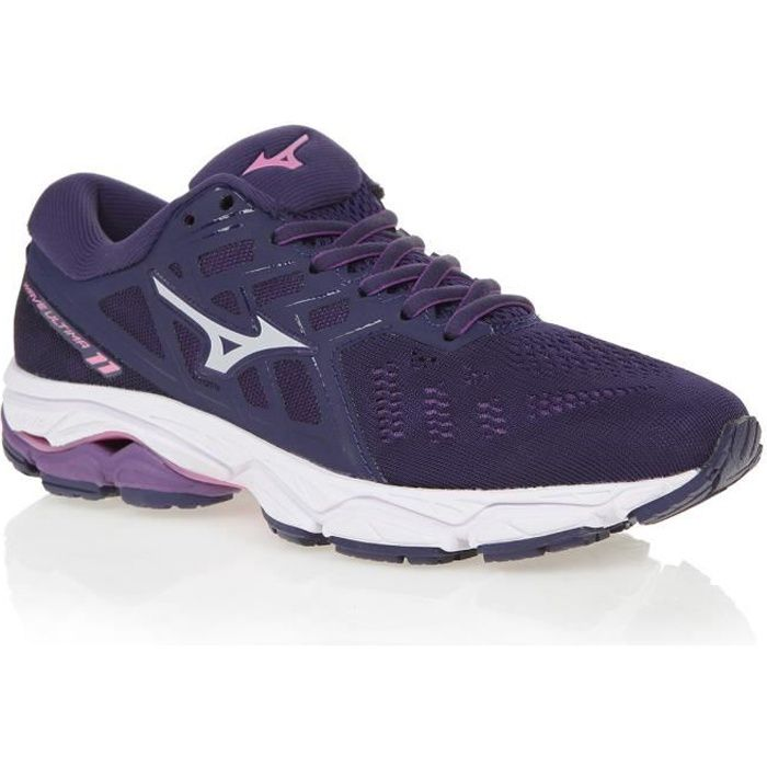MIZUNO Chaussures de running Wave Ultima 11 - Femme - Violet