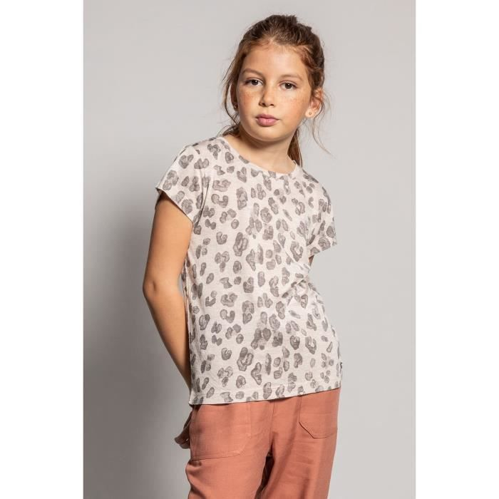 DEELUXE T-shirt imprimé léopard JEANNE Leo Shiny