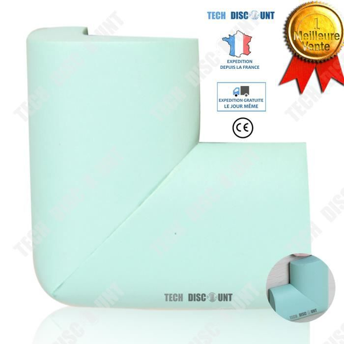 TD® Protège angles bébé anti-collision table sécurité des enfants bords protection verrouillage meubles maison coins tables cacher