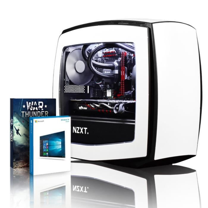 Vibox Atom Gm550 228 Pc Gamer Ordinateur avec War Thunder Jeu Bundle, Windows 10 Os (4,0Ghz Intel i5 6 Core Processeur, Msi Nvidia G