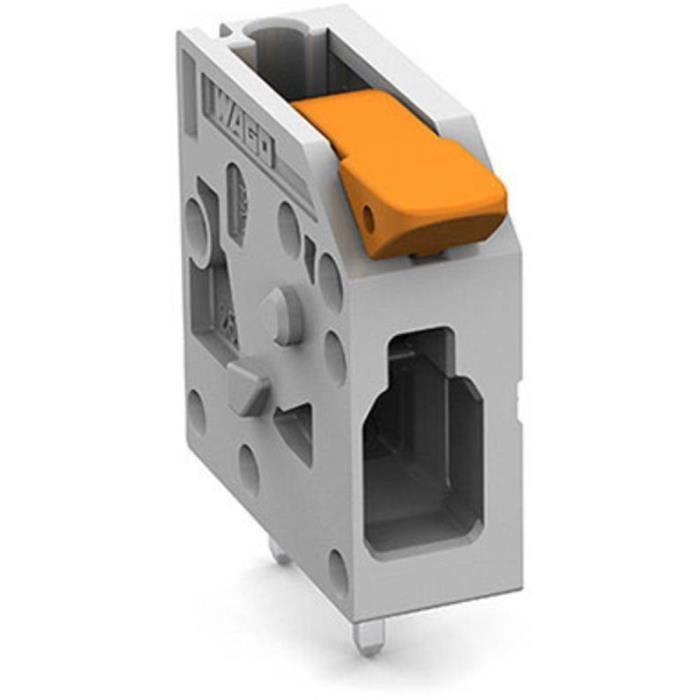 Borne pour circuits imprimés WAGO 2604-1101 4 mm² Nombre de pôles 1 1 pc(s) - CONNECTEUR SECTEUR
