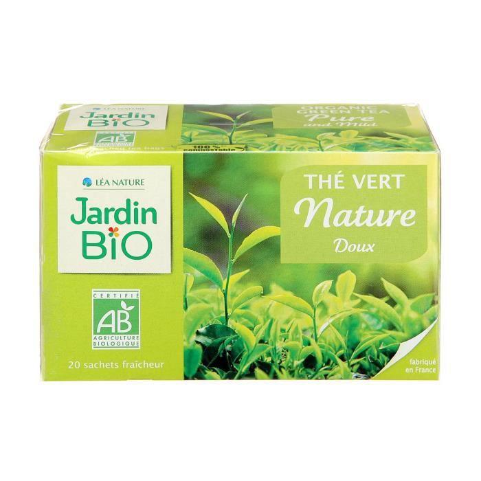 JARDIN BIO Thé vert doux bio - 40 g