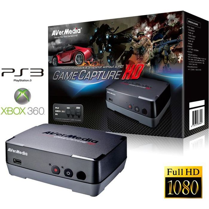 ADAPTATEUR ACQUISITION AVerMedia Game Capture HD