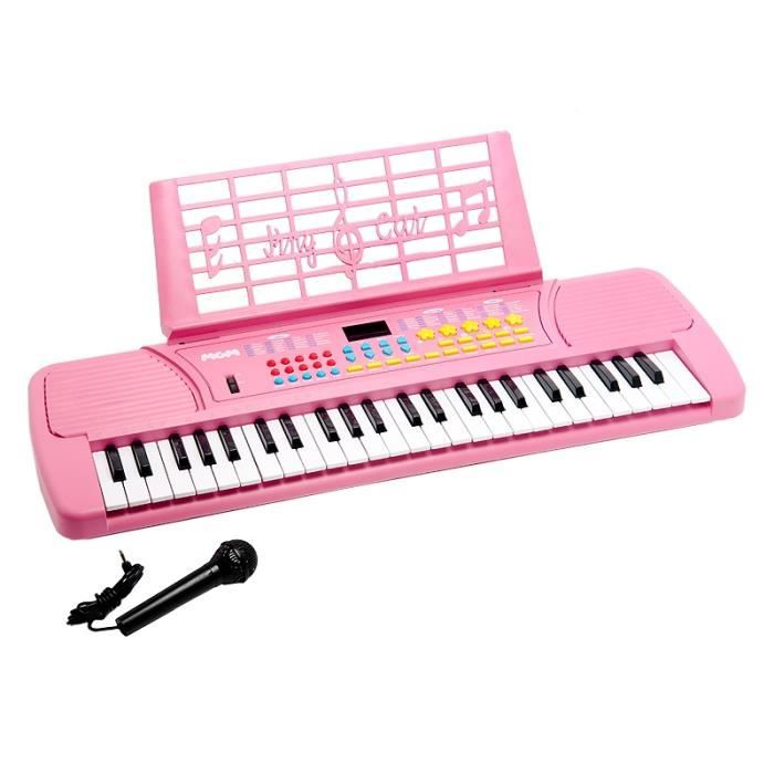 Clavier piano synthetiseur electrique 49 touches r achat for Piano electrique