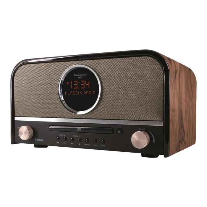 radio vintage bluetooth achat vente radio vintage bluetooth pas cher cdiscount. Black Bedroom Furniture Sets. Home Design Ideas