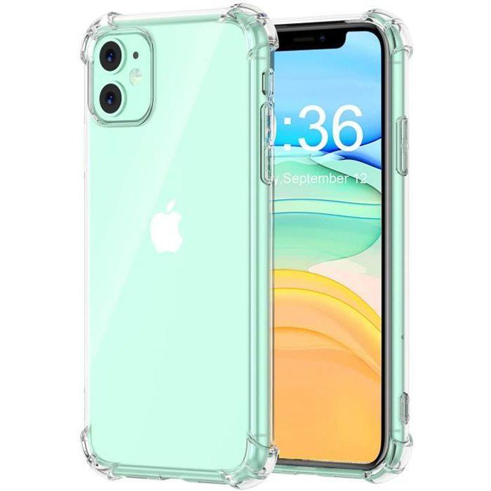 Coque iPhone 11, Etui de Protection Transparent An